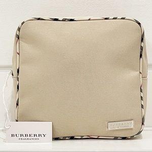 Burberry Fragrances Nova Check Trim Cosmetic Bag